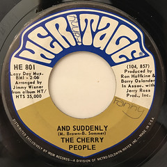 THE CHERRY PEOPLE:AND SUDDENLY(LABEL SIDE-A)
