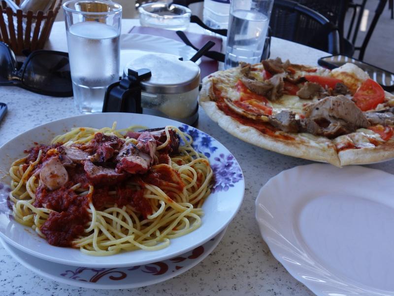 Santorini lunch