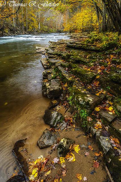 Autumn at Cherry Falls Elk River