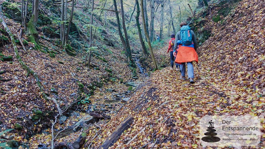 Bloggerwandern im Schilzergraben von Pommern nach Kail