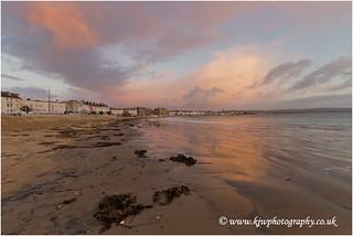 Weymouth Beach Sunrise