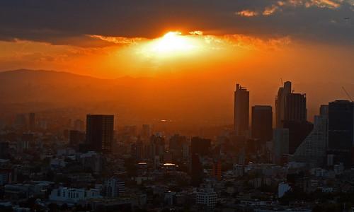 mexico mexicocity sunset sun light clouds