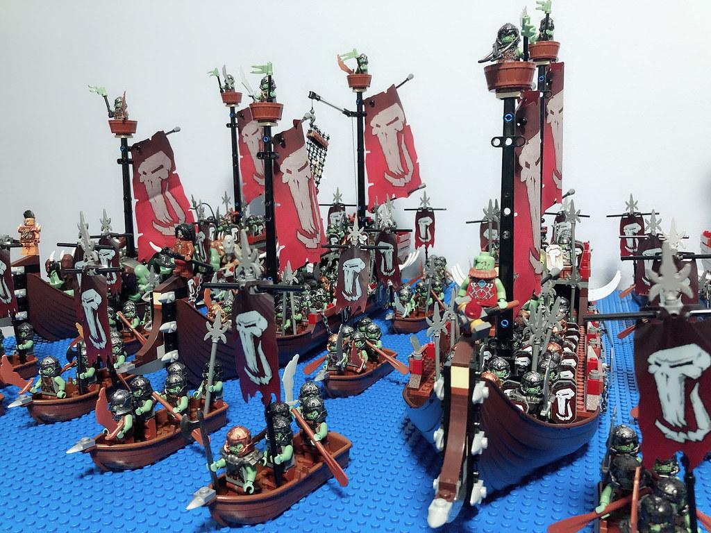 Troll/ Orc War Fleet