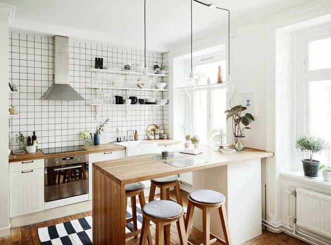 Cách sắp xếp căn bếp trở nên gọn gàng sạch đẹp