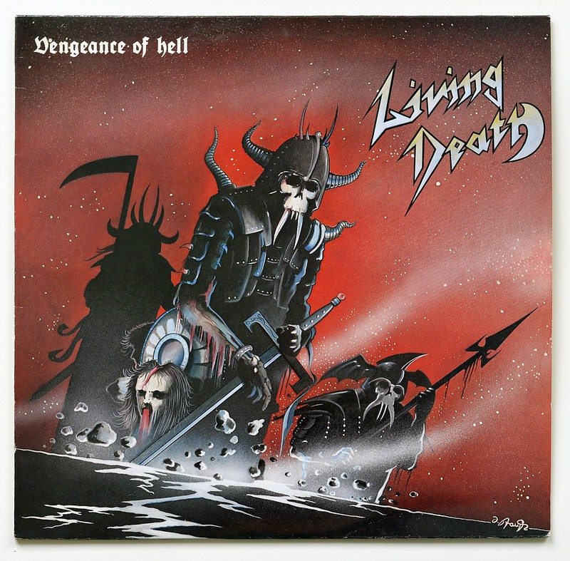 A0569 LIVING DEATH Vengeance Of Hell
