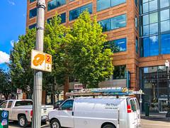 Block 300 Office Building, Portland Burger, SW 2nd Ave, Portland, OR