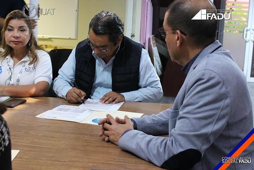 """Investigadores y docentes de la FADU entregan proyecto estructural: """"Estación Oceanográfica Golfo de México CIDIPORT-UAT"""""""