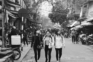 Ba người Việt ở Hà Nội