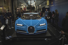 13,500 man hours and more than one million Technic bricks...Behold the full-size Lego Bugatti Chiron!