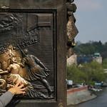 04/12/2018 - PDI. League 3.. Hand-worn monument on Charles Bridge, Prague by Rob Draper