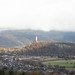 A view of the National Wallace Monument from Stirling Castle