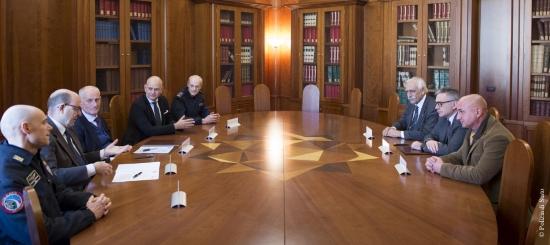 Firmata la convenzione Polizia di Stato - Anpas: una nuova sinergia per la formazione e il soccorso per unità cinofile