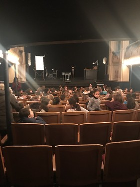 Les CM2 au théâtre - Décembre 2018
