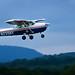 A civil Air Patrol Cessna takes off on a mission. Photo // Civil Air Patrol