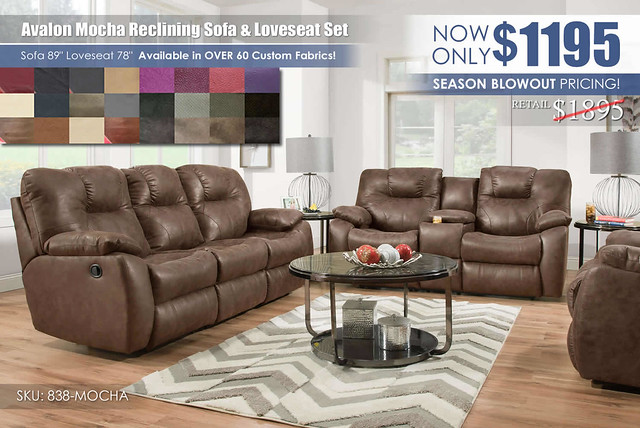 Avalon Mocha Reclining Living Set_838_ColorSwatches