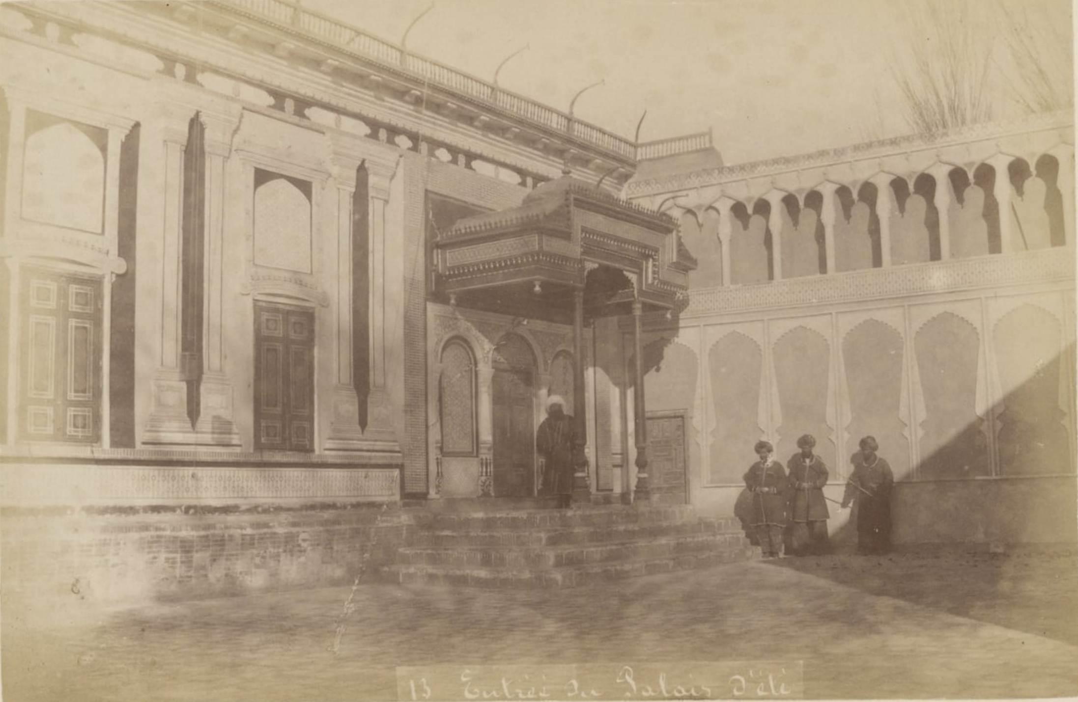 13. Вход в летний дворец бухарского эмира