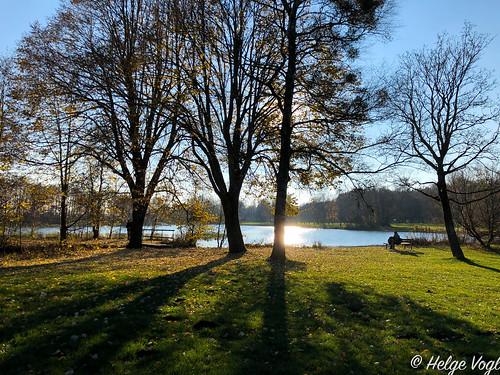 Germeringer See im Spätherbst