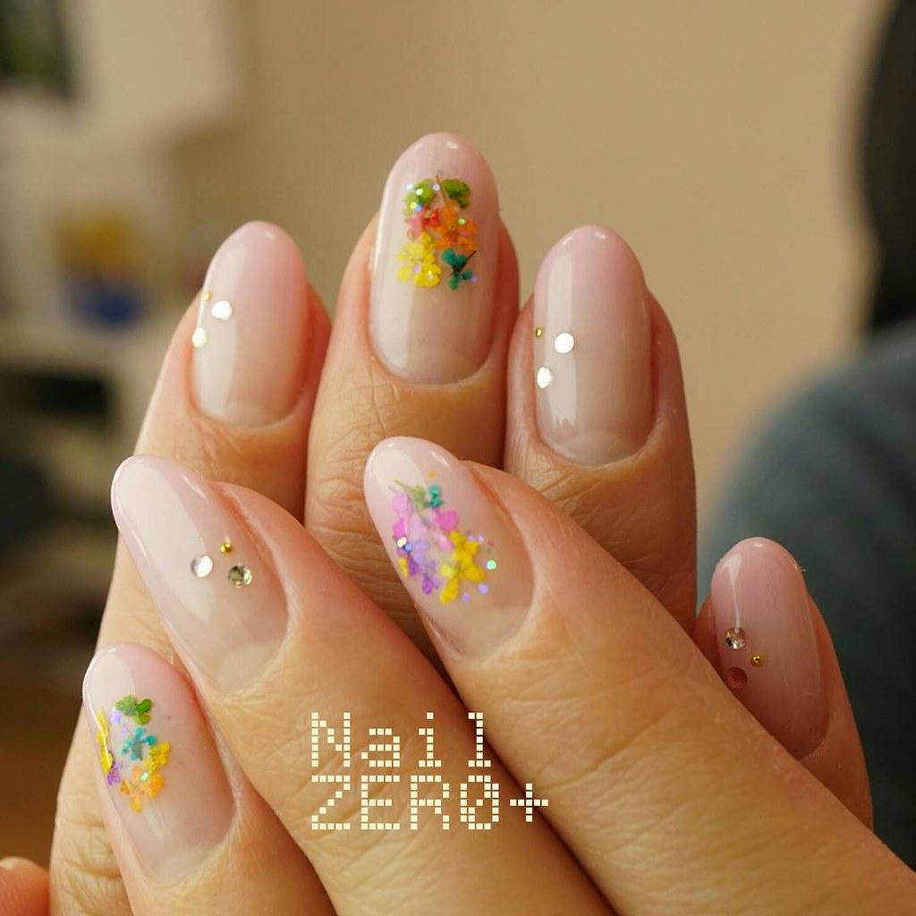 ♥ 漸層指甲的魅力!指上淡淡的暈開 21