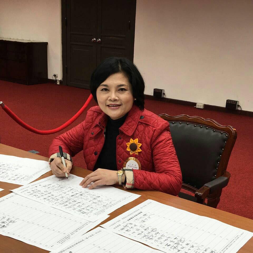 4號國民黨張麗善(圖片取自張麗善臉書)