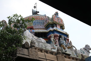 Vimanam of Shiva shrine