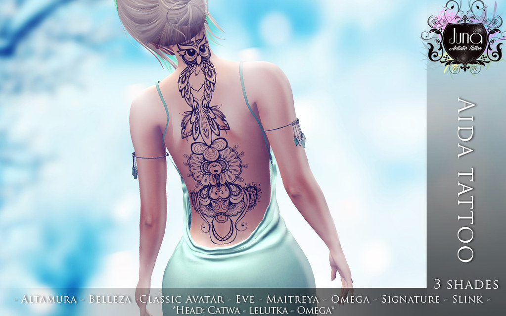 Aida tattoo - TeleportHub.com Live!