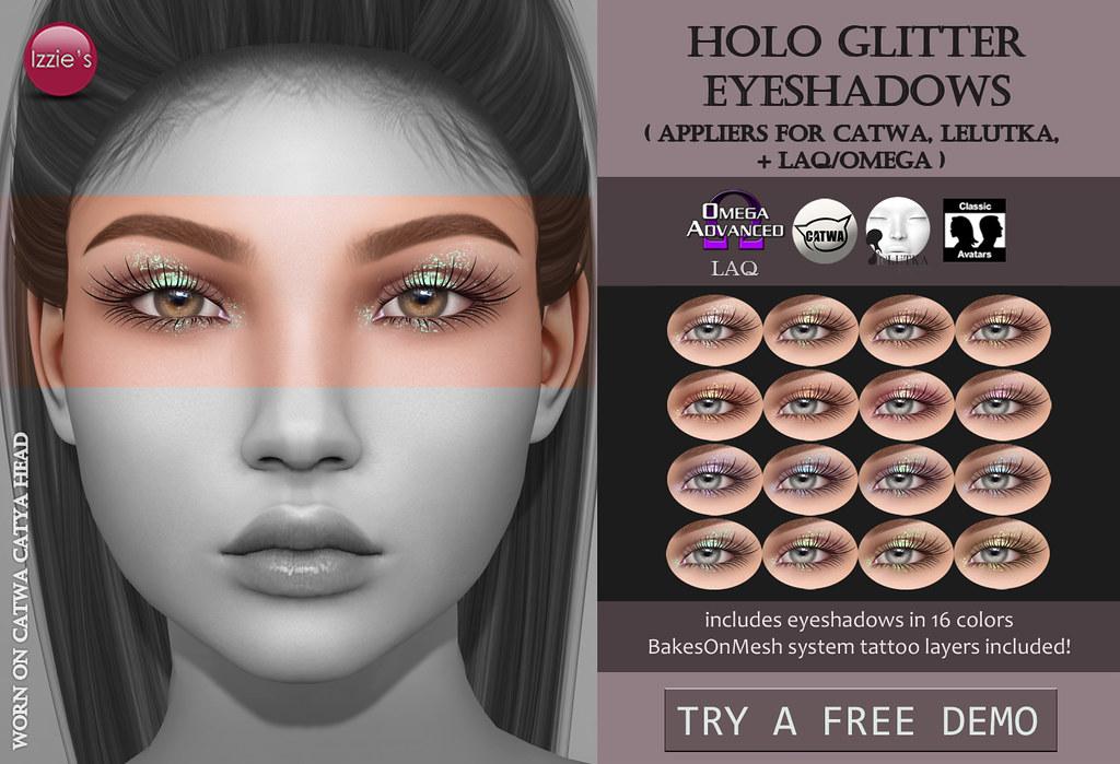 Holo Glitter Eyeshadows - TeleportHub.com Live!