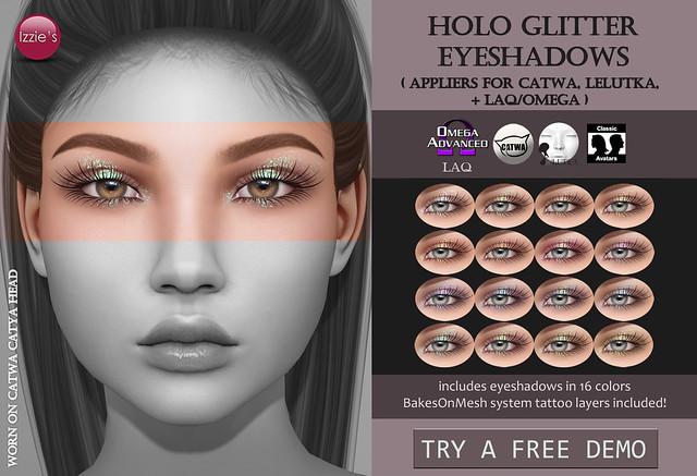 Holo Glitter Eyeshadows