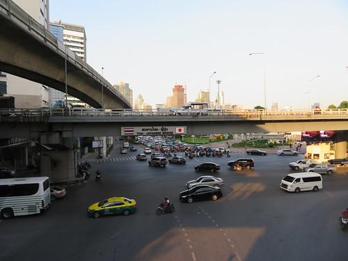 バンコク市内の様子