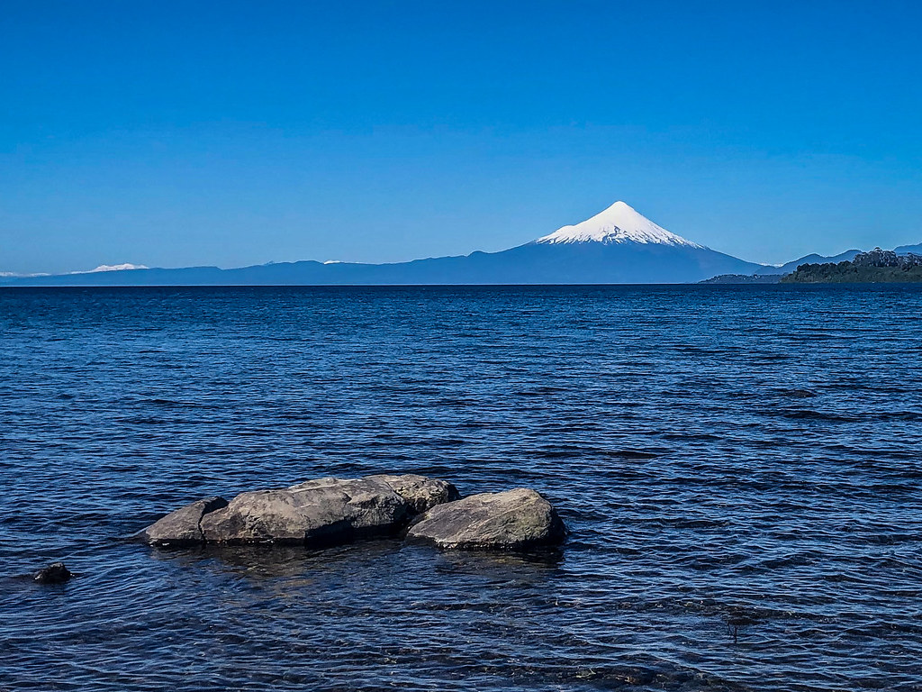 the view from Puerto Varas