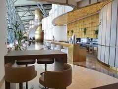 Oman Air Business Class Lounge Muskat