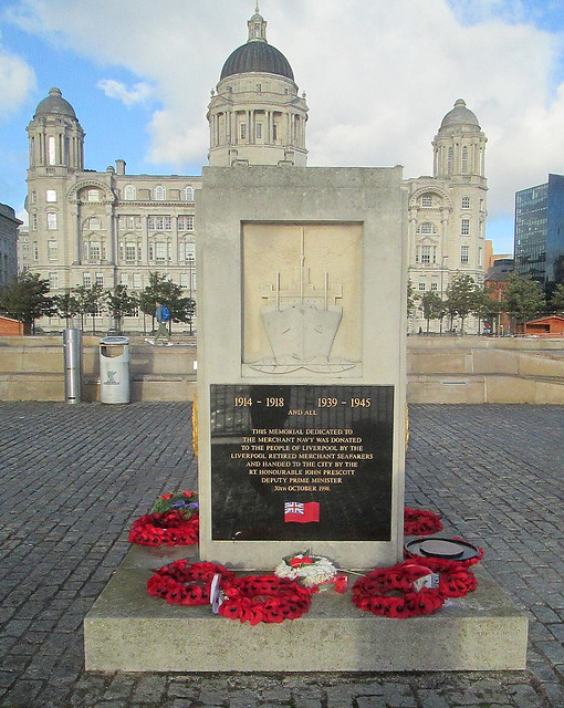 Reverse of Merchant Navy Memorial, Liverpool