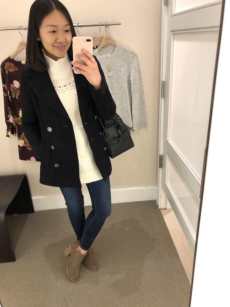 Lou & Grey Winterweave Turtleneck Sweater, size XXS regular