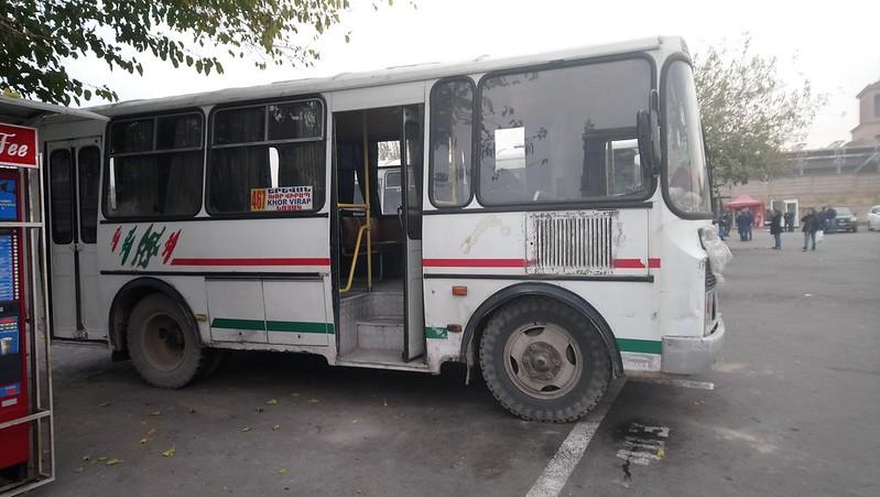 Bus 467 Yereván - Khor Virap