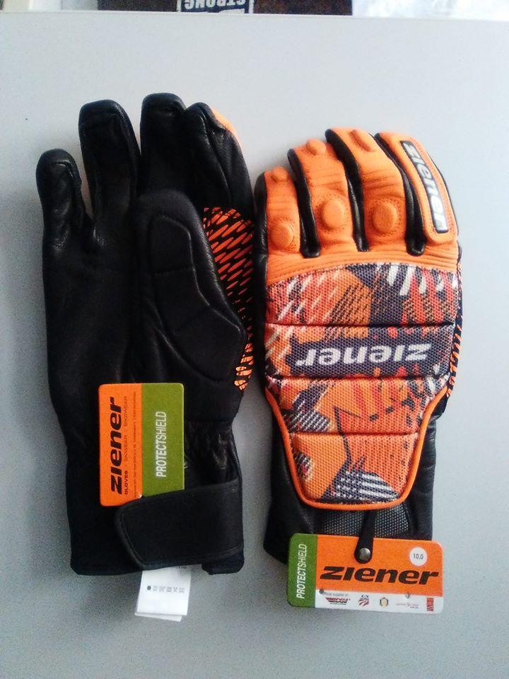 Lyžařské rukavice ziener - Bazar - SNOW.CZ c5a2cfd288