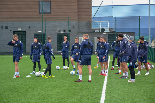 AFC Fylde Training: 6th December