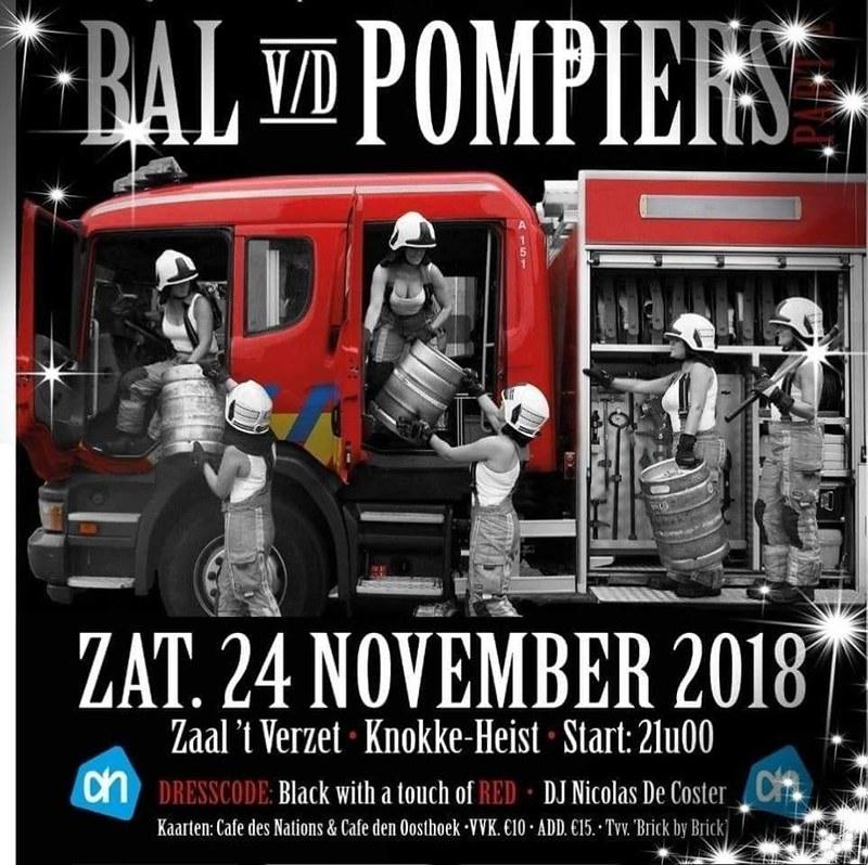 Bal van de Pompiers 24 nov 2018