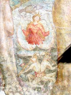 Olang ST. Ägidius, Freske