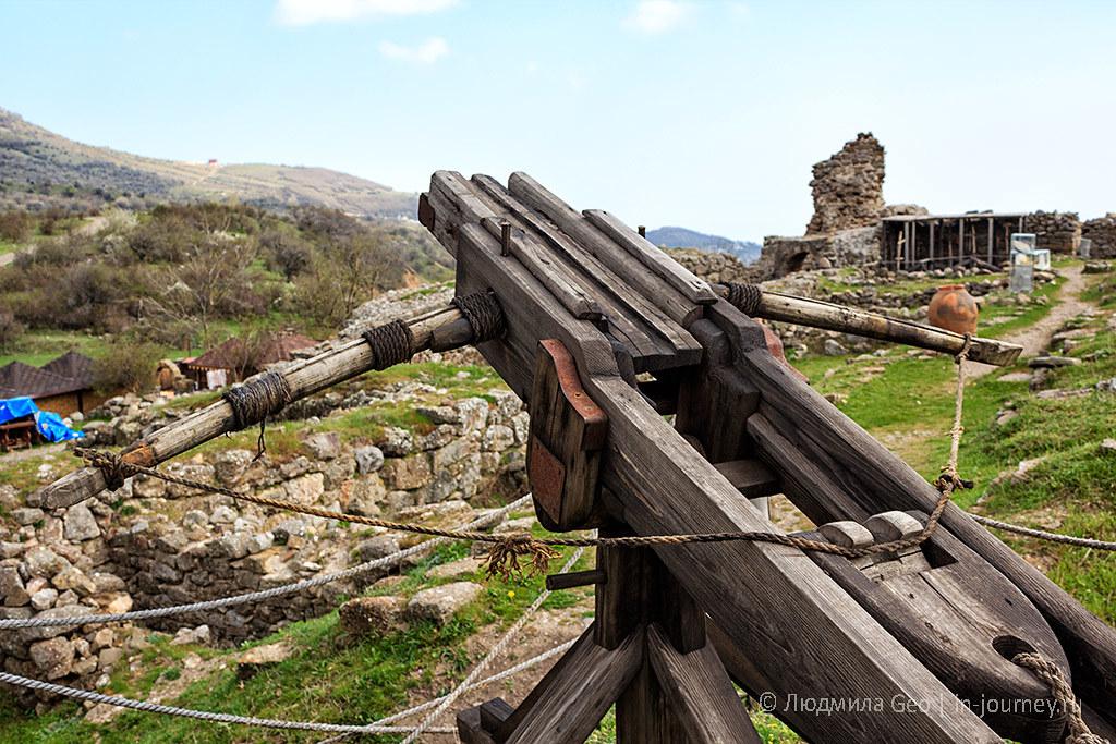крепость Фуна в Крыму фото