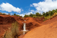 Creek in Waimea Canyon State Park Hawaii
