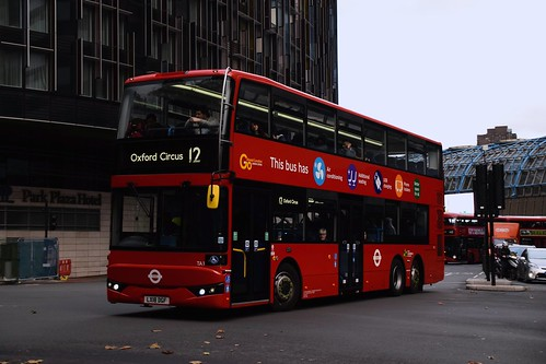 Go-ahead London TA1 on Route 12, County Hall