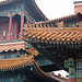 Roof detail, Yonghe or Lama Temple, Beijing, China