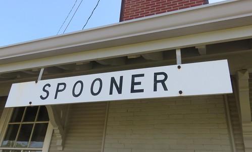 Old Chicago & Northwestern Railroad Depot (Spooner, Wisconsin)