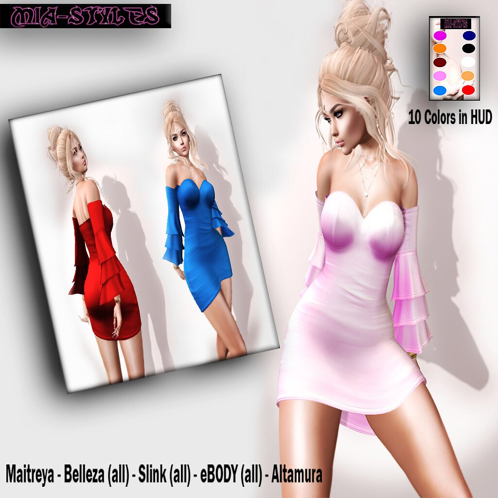 EXCLUSIVE MS – Lita dress..! to *Mia Styles*