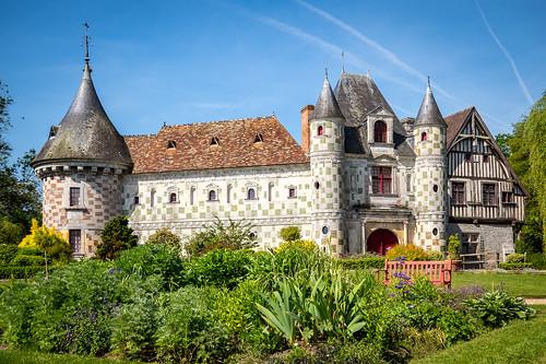 Château de St-Germain-de-Livet, Normandy
