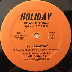 NICE & NASTY 3:THE ULTIMATE RAP(LABEL SIDE-A)