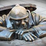 Man at Work by Elaine Robinson