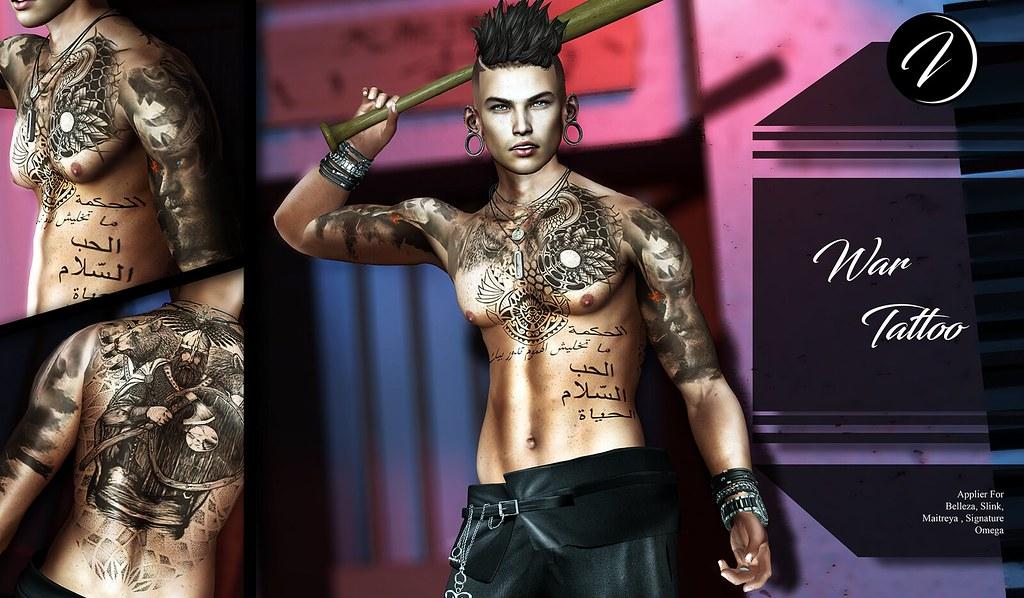 ..:: INKer ::.. War Tattoo - TeleportHub.com Live!