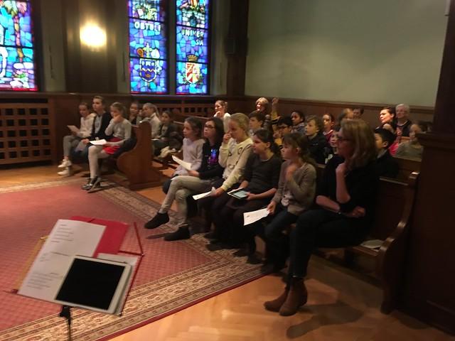 Messe De L'Avent À Sainte-Anne