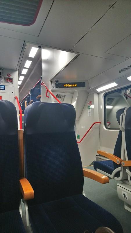 Tren Vilnius - Minsk