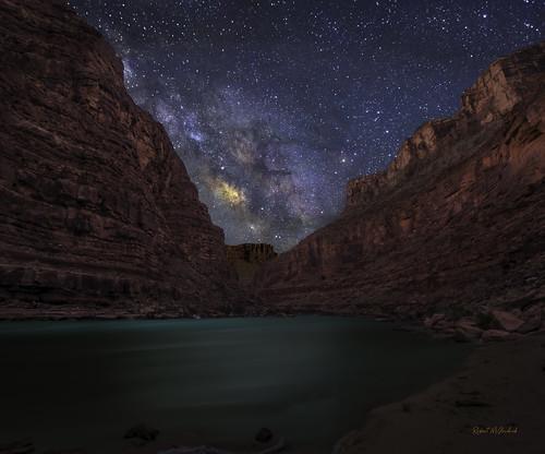 A Galactic River-Grand Canyon National Park